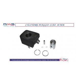 CYLINDRE PIAGGIO CIAO D 10MM RMS